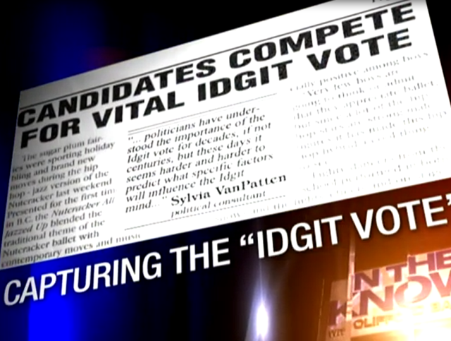Candidates Compete For Vital Idgit Vote