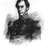 Harpers Weekly illustration; Captain Charles Wilkes