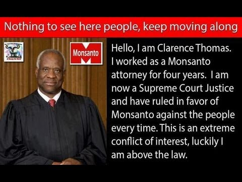 "Clarence ""White Like Me"" Thomas: Monsanto made it to the top 25 censored news stories of 2013: At 24: Widespread GMO Contamination: Did Monsanto Plant GMOs Before USDA Approval? At 21: Monsanto and India's ""Suicide Economy"""