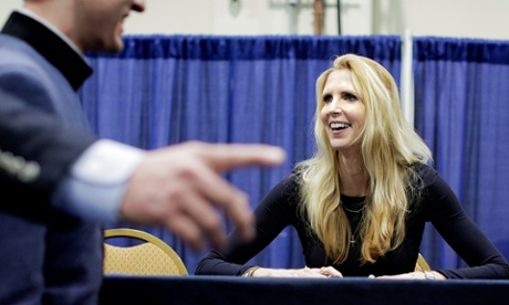 """""""Shaming is good."""" Ann Coulter, March 8, CPAC, regarding people on public assistance."""