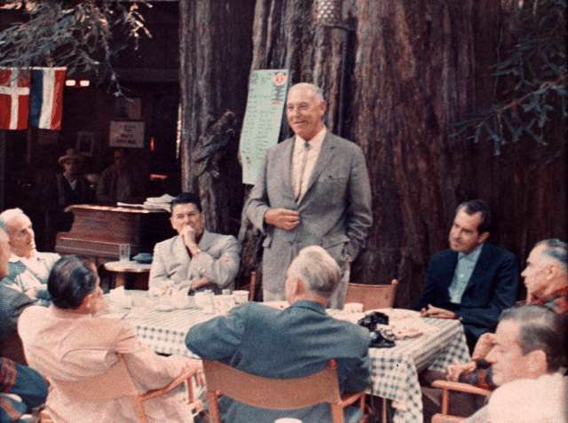 White House Audio: Nixon Attended Faggoty Bohemian Grove